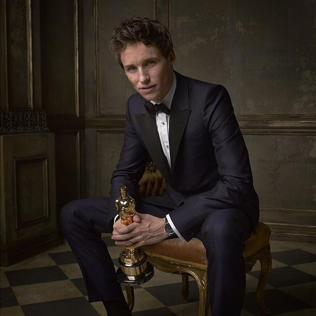 Striking Celebrity Portraits Taken at Vanity Fair's Oscar Party 2015