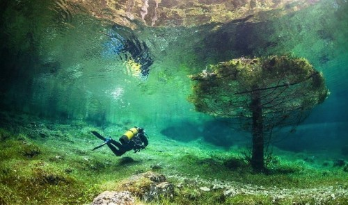 Incredible Underwater Park in Austria
