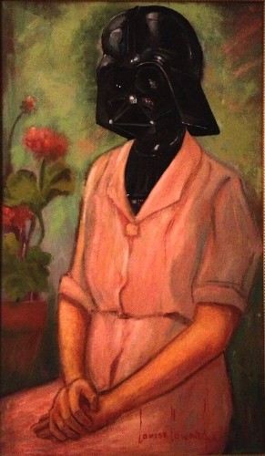 Humorous Recreations of Unwanted Thrift Store Paintings