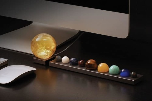 Stargazers Will Love This Dazzling Solar System Desk Accessory