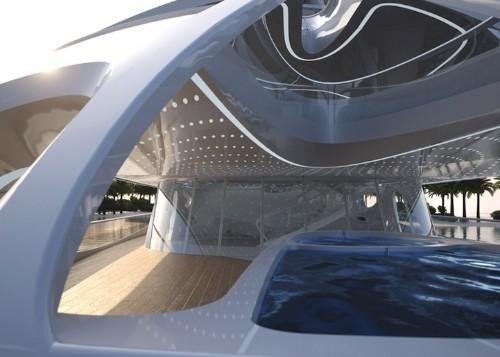 New Interior Photos of Zaha Hadid's Modern Superyachts