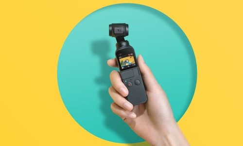 DJI Osmo Pocket Is the World's Smallest Motion-Stabilized 4K Camera
