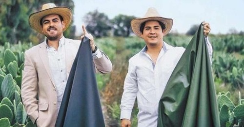 """These Two Men Created """"Leather"""" From Cactus to Save 1 Billion Animals and the Environment"""