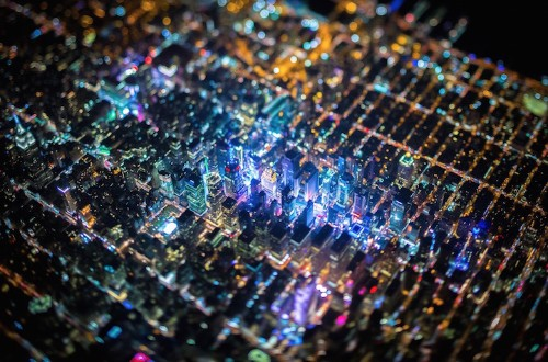 Breathtaking Aerial Photos of New York City at Night Captured From 7,500 Feet