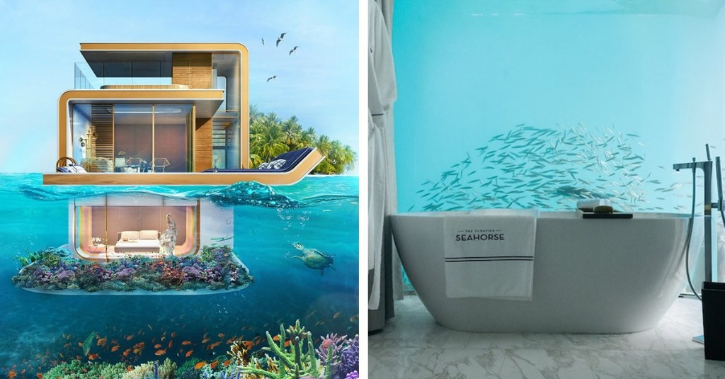 Dubai Is Building Beautiful Underwater Homes with Exceptional Aquatic Views