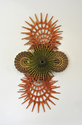 Intricate Wooden Sculptures Made from Dizzying Repetitions of Organic and Geometric Shapes