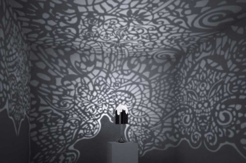 """Gorgeous 3D Printed """"Lacelamps"""" Cover Entire Rooms in Intricate Patterns"""
