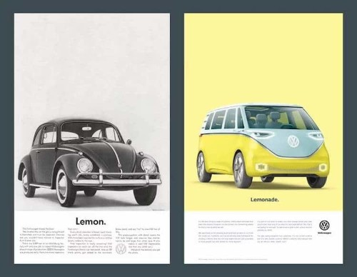 "VW Introduces Electric Microbus as a ""Rebirth"" in Vintage-Inspired Ads"