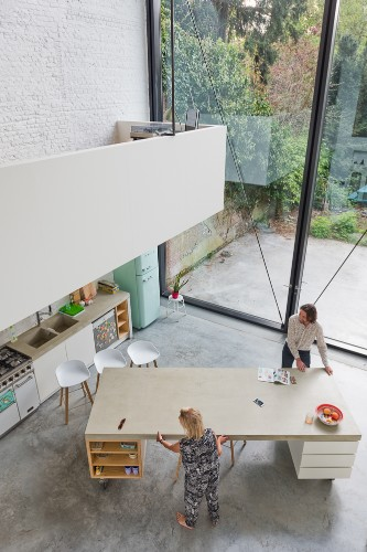Renovated House Has the World's Largest Pivoting Windows