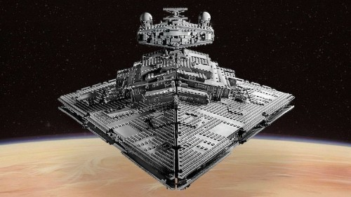 LEGO Debuts 4,784-Piece 'Star Wars' Set of the Imperial Star Destroyer