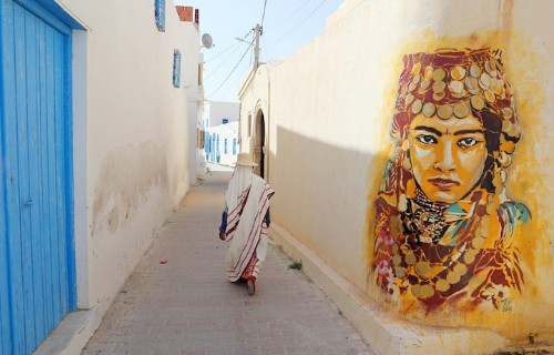 150 Street Artists Decorate Old Tunisian Village with Spectacular Murals