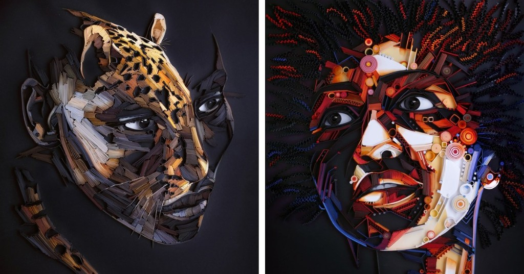 Every Portrait This Paper Quilling Artist Creates Is a Stunning Masterpiece