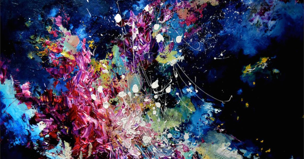 Artist with Synesthesia Paints Music as Gorgeous Splashes of Color