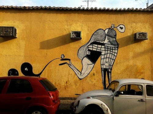 The Love-Filled Street Art of Alex Senna