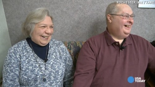 Blind Man with New Bionic Eye Sees His Wife for the First Time in a Decade
