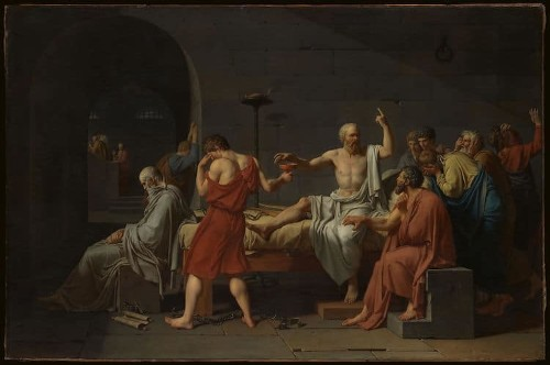 How David's 'Death of Socrates' Perfectly Captures the Spirit of Neoclassical Painting