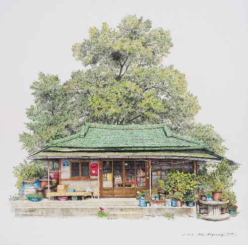 Artist Captures the Charm of South Korea's Corner Shops Before They Disappear