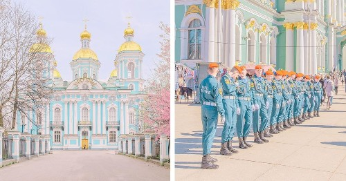 Traveling Photographer Captures a Pastel World Straight Out of a Wes Anderson Film