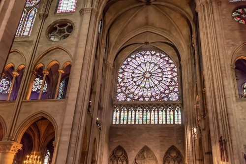 Paris Gains Hope as Notre-Dame's Iconic Rose Windows Are Reported Safe