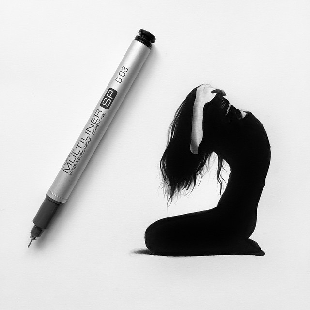Striking Hyperrealistic Drawings Are No Larger Than a Pen