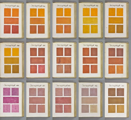 Extraordinary 271-Year-Old Encyclopedia of Colors and Paint
