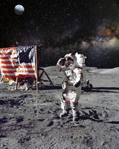 Neil Armstrong's Spacesuit Is on Display at National Air and Space Museum
