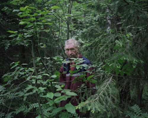 Compelling Portraits of People Who Live Alone in the Forest