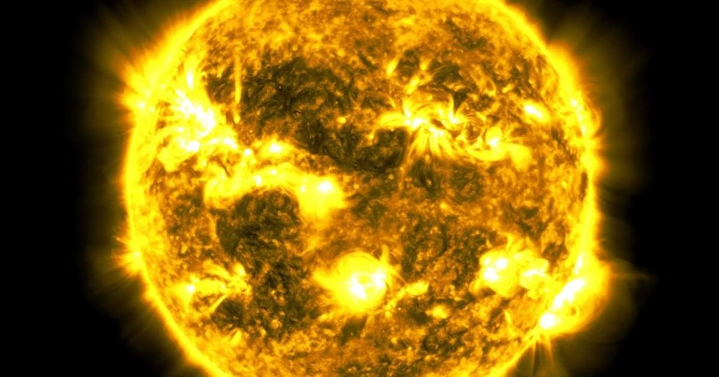 NASA Shares Spectacular 10-Year Time-Lapse Video of the Sun