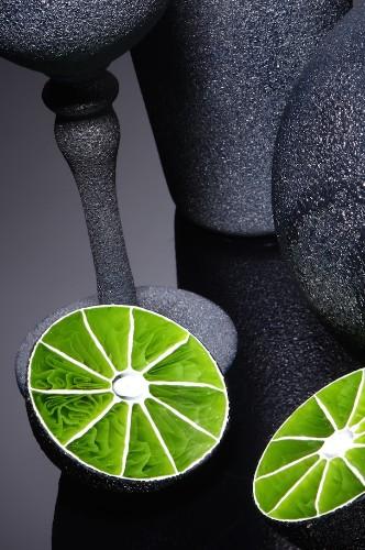 Sliced Fruit Sculptures Reveal Hidden Glass Flesh