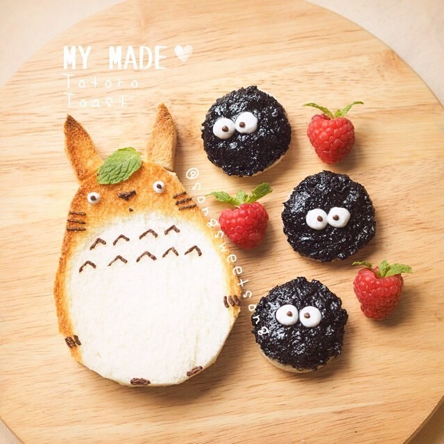 Food Artist Creates Charming Characters That Look Too Adorable to Eat
