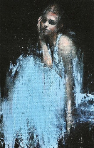 Powerful Contemporary Oil Portraits by Mark Demsteader