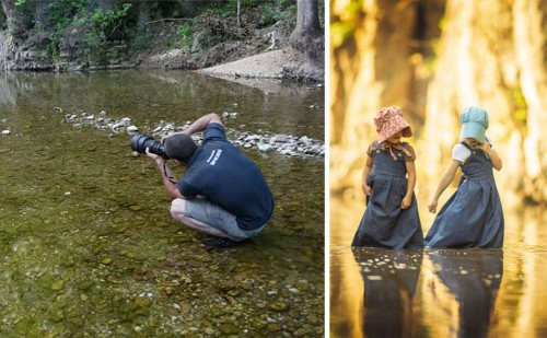 Behind the Scenes Perspective of What a Photographer Sees and What They Capture