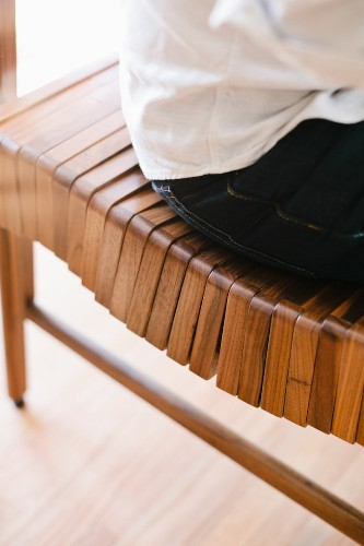Sleek Wood Furniture Gently Curves to Fit the Body for Hours of Comfortable Seating