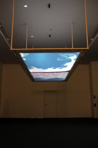 Interactive Installation Invites Visitors to Manipulate Clouds
