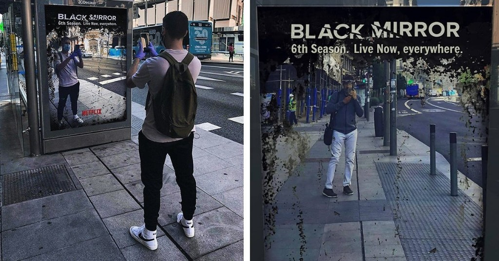 Dystopian 'Black Mirror' Ad Says Season 6 Is Happening Now, in Real Life