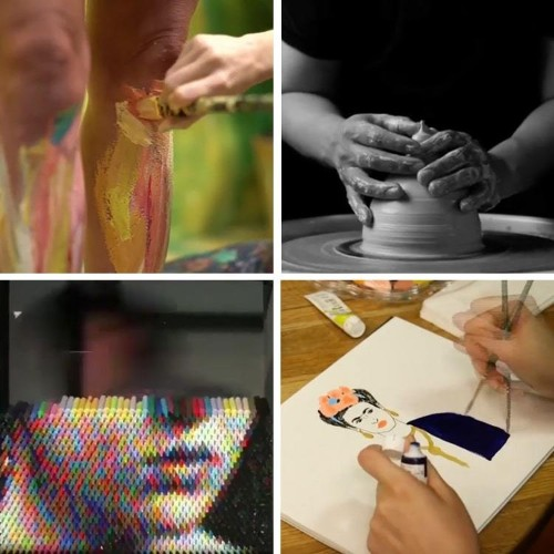 Artist Videos Offer a Fascinating Peek into the Creative Process