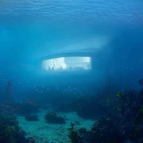 Europe's First Underwater Restaurant Is Being Built Off the Norwegian Coast