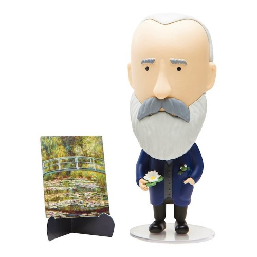 Artistic Claude Monet Action Figure Magically Changes Color in Water