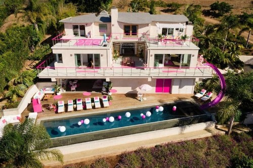 You and Three Friends Can Now Stay in Barbie's Real Life Malibu Dreamhouse