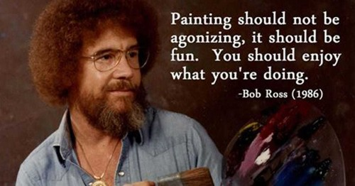 You Can Book Official Bob Ross Painting Workshops Through Airbnb