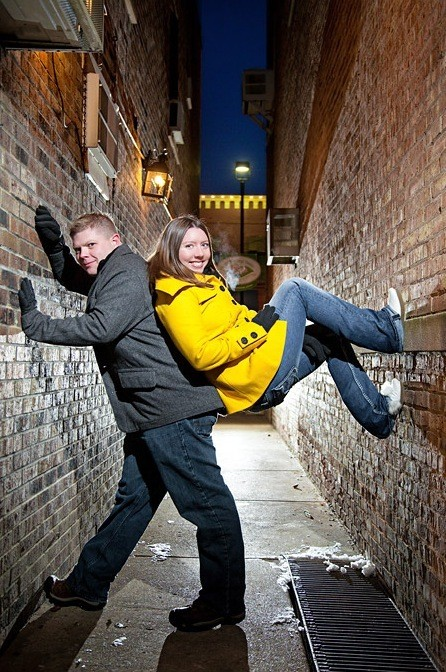Hilariously Awkward Engagement Photos
