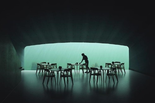 Europe's First Underwater Restaurant Allows Guests to Dine Below the Norwegian Sea
