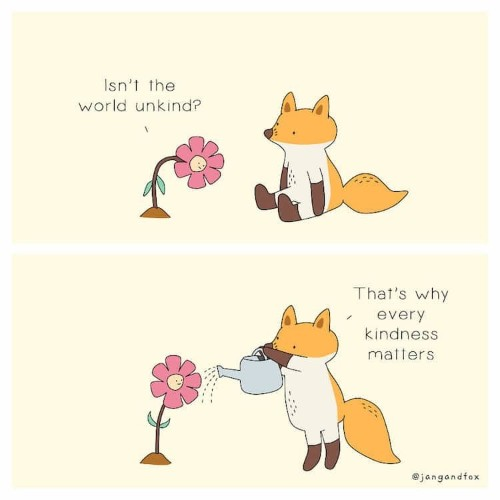 Illustrator Creates Adorable Animal Comics That Inspire Self-Love
