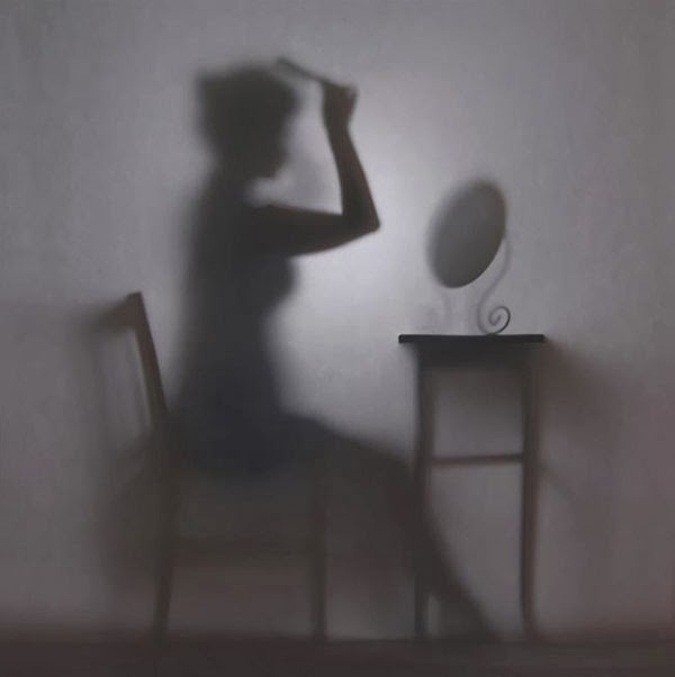 Intriguing Photographs of a Woman Living in the Shadows