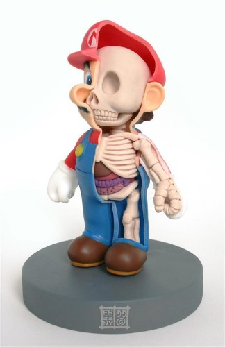 Sculptures Reveal the Inner Anatomies of Beloved Childhood Toys