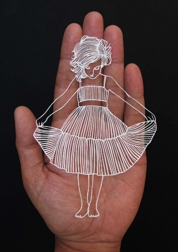 Artist Delicately Cuts Paper to Look Like Whimsical Illustrations