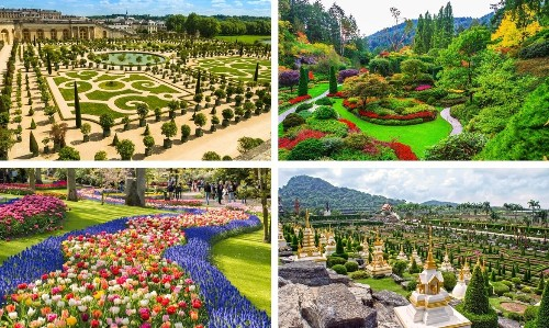 10 Dazzling Gardens Around the World That Explode with Color and Character