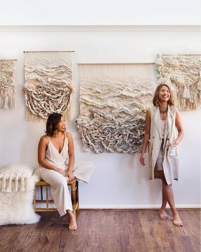 These Sister Weave Textured Wall Hangings Inspired by Australia