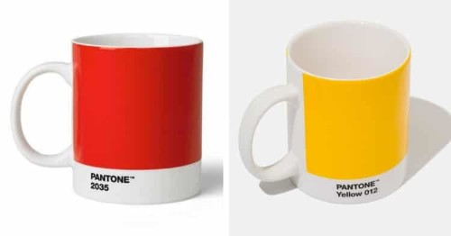 Add a Splash of Color to Your Morning Brew w/ Summery Pantone Mugs
