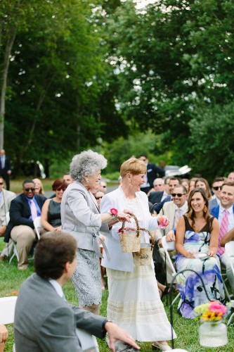 Couple Asks Their Adorable Grandmas to Be Flower Girls at Wedding